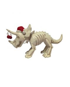 Triceratops Dinosaur Skeleton Ornament