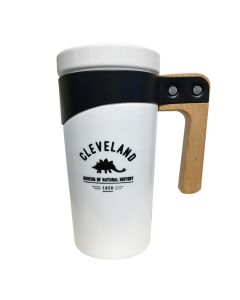 Cleveland Museum of Natural History Ceramic Travel Mug