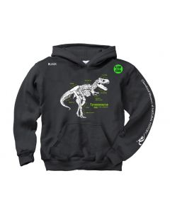 Youth T. Rex Glow-in-the-Dark Hoodie